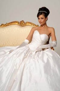 wedding dress cleaning by GownClean