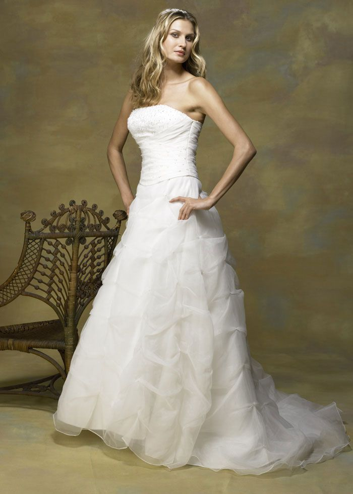 standard wedding dress clean and box premium