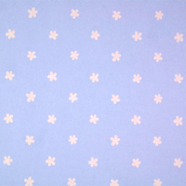 Simple Flowers Blue  (Price band A)