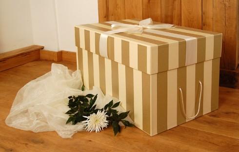 Wedding dress cleaning UK Boxing