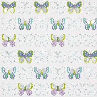 Butterflies-Turquoise