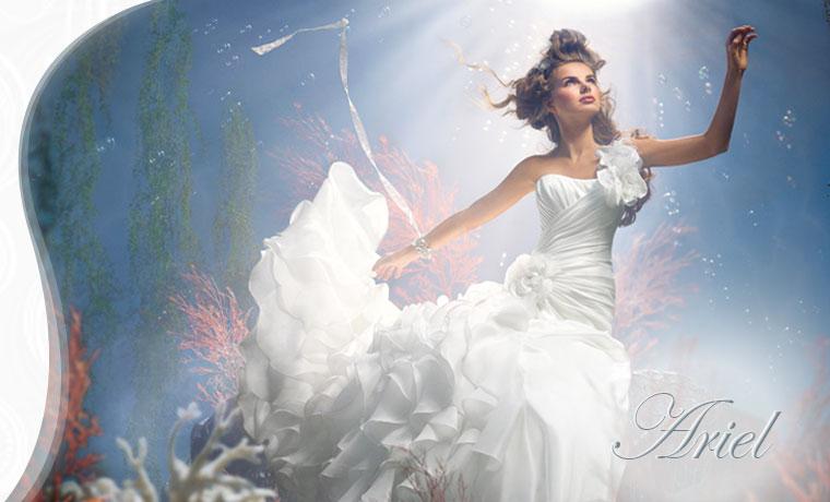 Princess style wedding dresss