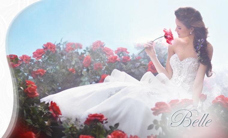 Disney style princess wedding dresss