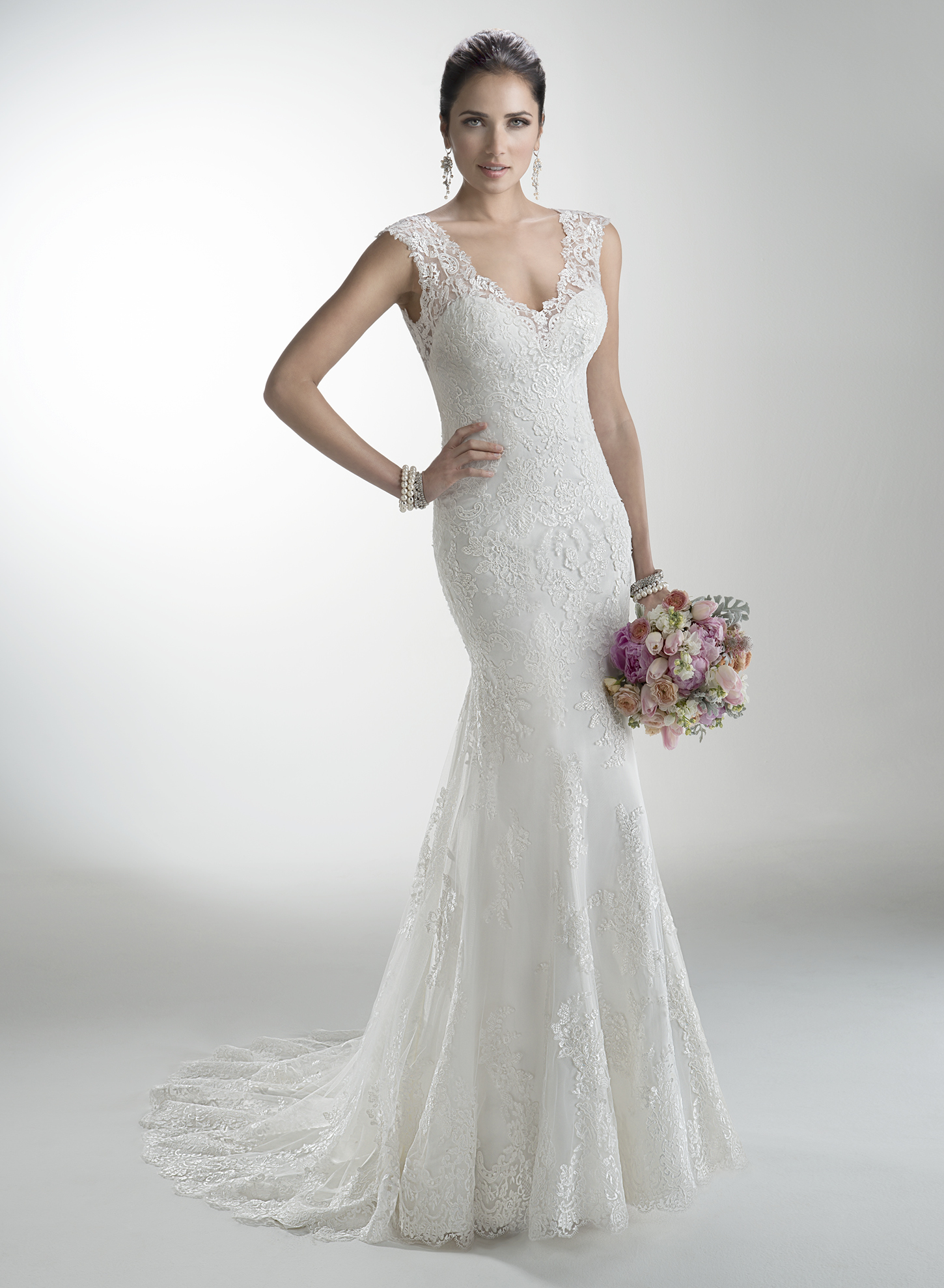 fc4b2eb3163 Fishtail wedding dress cleaning prices by GownClean Ltd. 2014 Maggie  Sottero wedding dresses