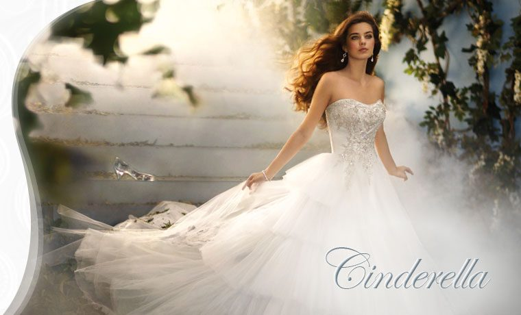 Dreaming Of A Fairy Tale Wedding Alfred Angelo Can Make Dream Weddings Come True With Magical Collection Disney Dresses Or Bridesmaid Gowns